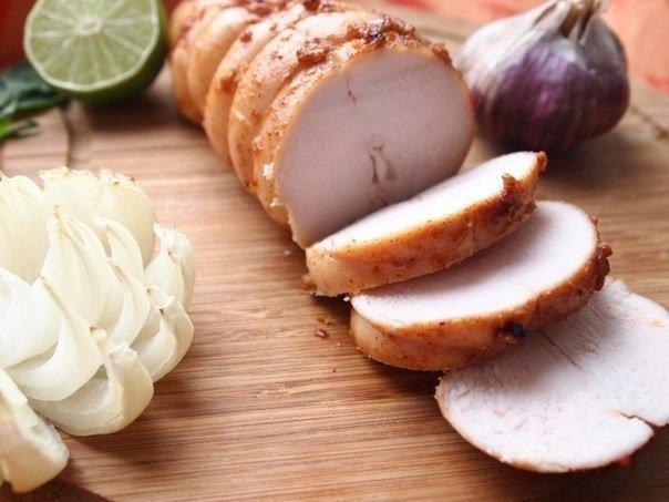 Фото к рецепту: Куриная пастрома.