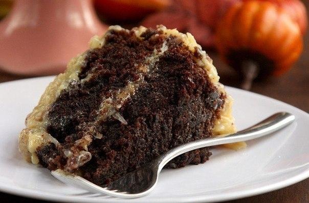 Фото к рецепту: Немецкий шоколадный торт