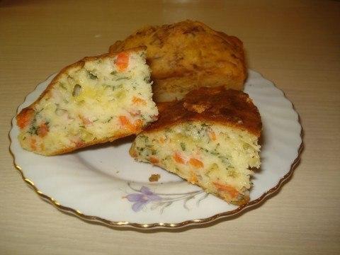 Фото к рецепту: Простейший наливной пирог на кефире