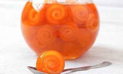 Фото к рецепту: Варенье из апельсиновых корок.