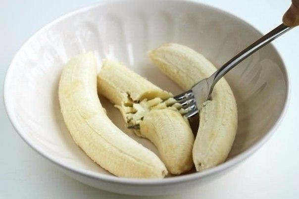 банановые оладьи без муки