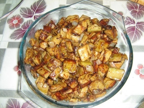 Фото к рецепту: Баклажаны как грибы.