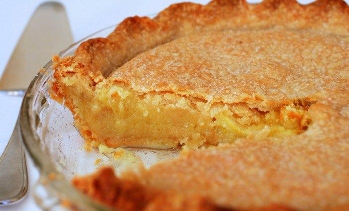 Фото к рецепту: Очень нежный лимонный пирог