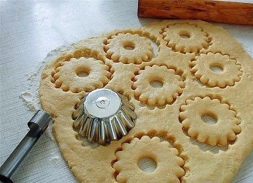 Фото к рецепту: Быстрое песочное тесто