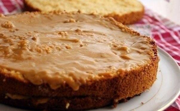 Простой рецепт пирога из сгущенки