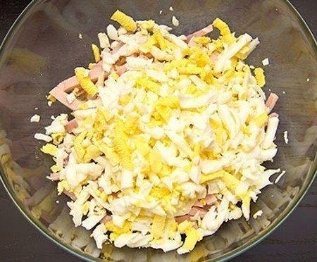 рецепт салата русская красавица не слоями