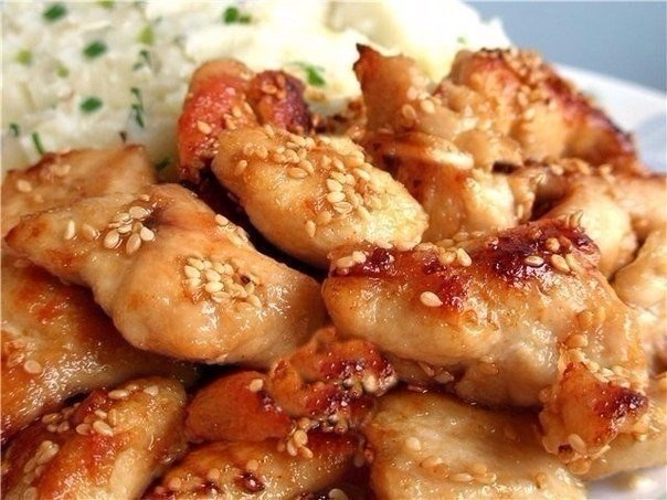 Фото к рецепту: Куриные грудки по-восточному