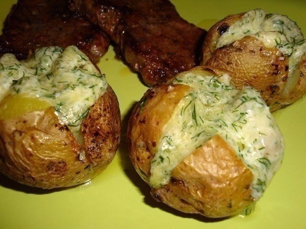 Фото к рецепту: Картофель на гарнир