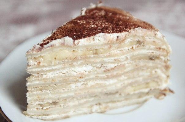 Фото к рецепту: Быстрый тортик без выпечки.