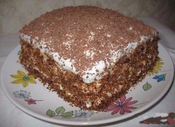 Фото к рецепту: Торт Мечта жизни