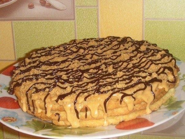 Фото к рецепту: Тортик на скорую руку