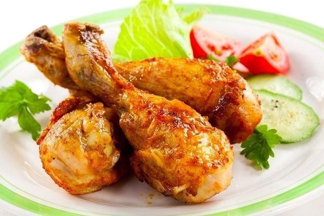 Фото к рецепту: Куриные ножки с медом