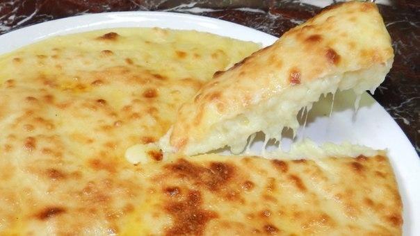 Фото к рецепту: Осетинский пирог со свежим сыром