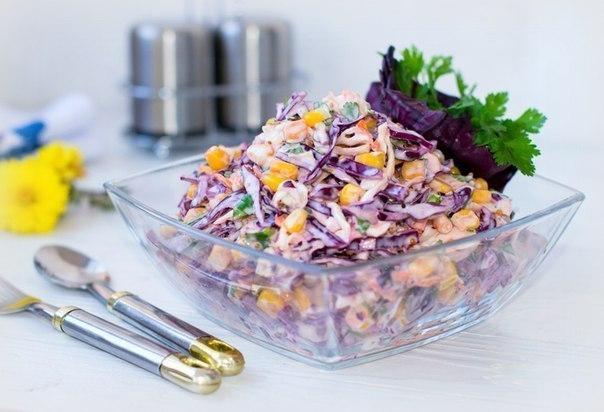 Фото к рецепту: Салат Коулсло