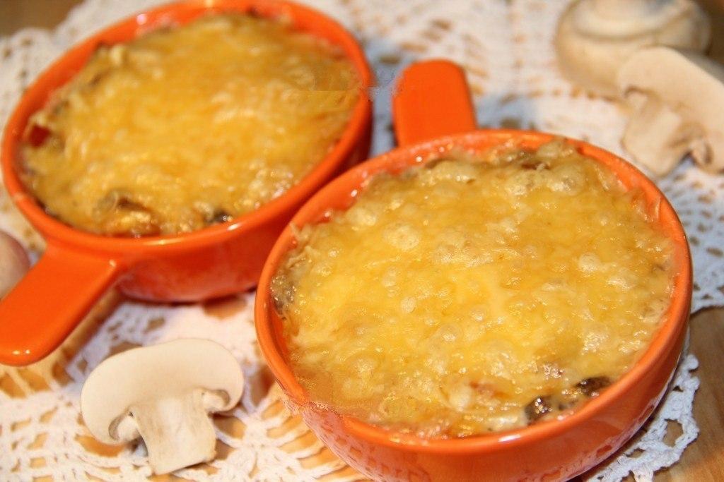 Как приготовить жульен с шампиньонами пошаговый рецепт с фото