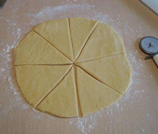 Тесто для треугольника с мясом и картошкой 74