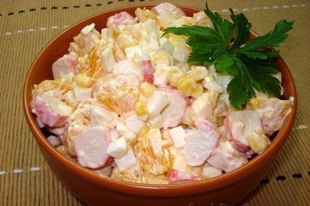 Фото к рецепту: Салат по-королевски