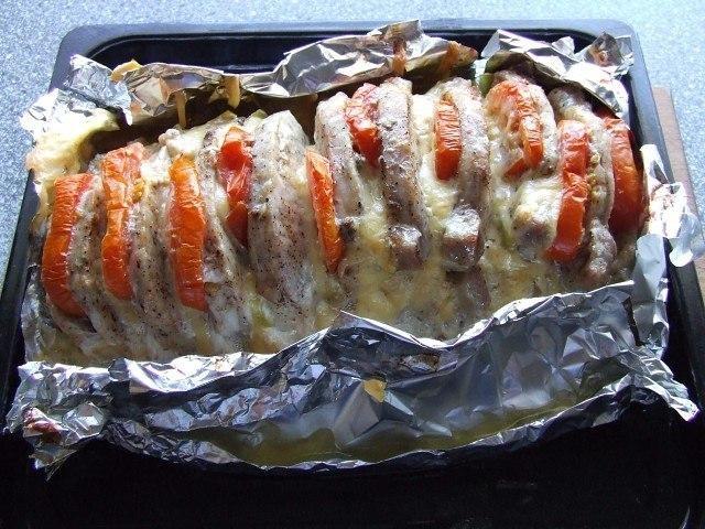 Фото к рецепту: Мясо 'Гармошка' - вкуснятина неописуемая!