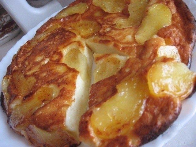 Фото к рецепту: Творожно-яблочное чудо  Просто тает во рту...