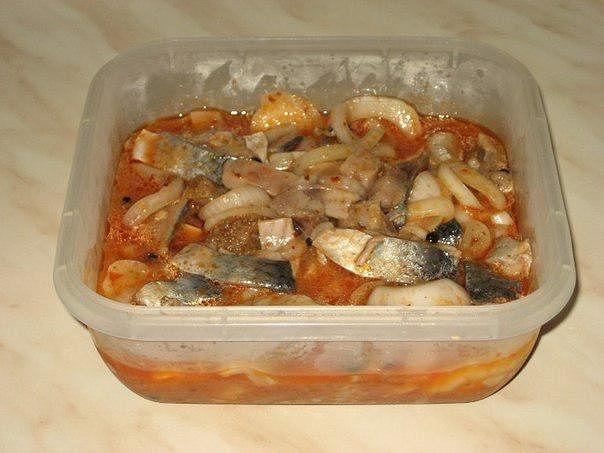 Фото к рецепту: Сельдь по-корейски