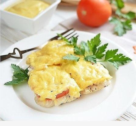 Фото к рецепту: Рыба по-французски на ужин
