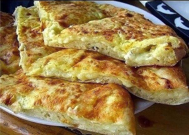 Фото к рецепту: Быстрое хачапури к завтраку