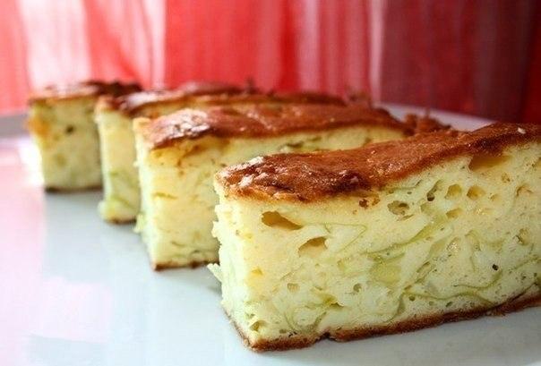 Фото к рецепту: Пирог со свежей капустой