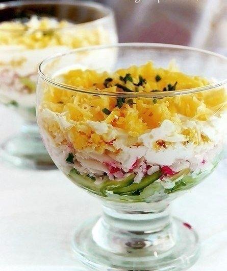 Фото к рецепту: Салат вкусный
