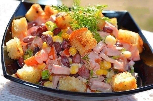 Фото к рецепту: Салат для любимого мужа!