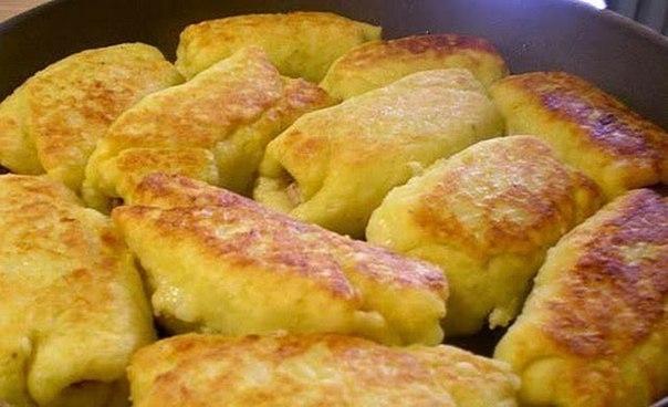Фото к рецепту: Картофельные рулетики с мясом