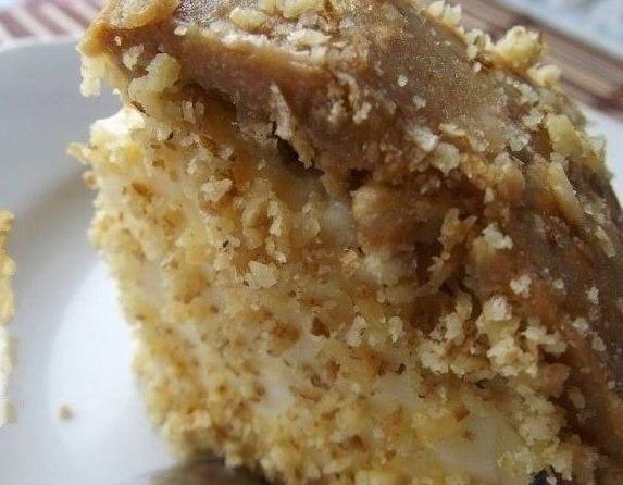 Фото к рецепту: Банановый торт без выпечки Трюфельдинья