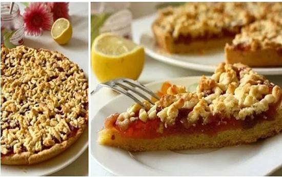 Фото к рецепту: Тертый пирог.