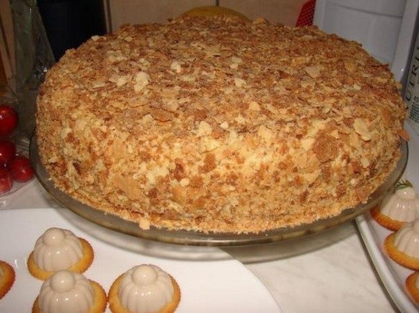 Простой и вкусный бисквит на торт фото 1