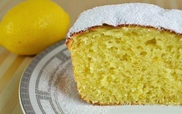 Фото к рецепту: Творожный кекс с лимоном