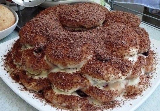 Фото к рецепту: Торт черепаха