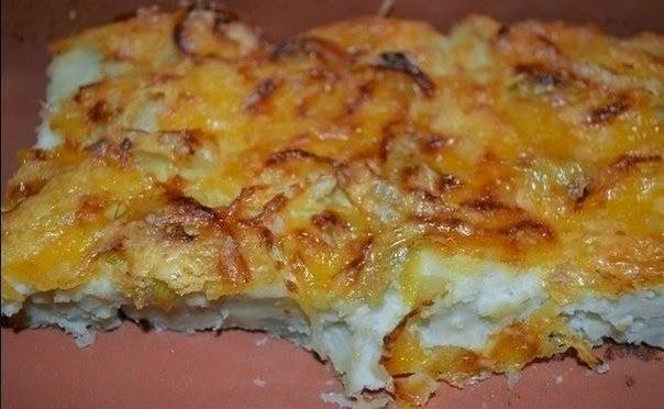 Фото к рецепту: Картофельная запеканка с яйцом
