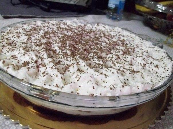 Фото к рецепту: Торт за 15 минут