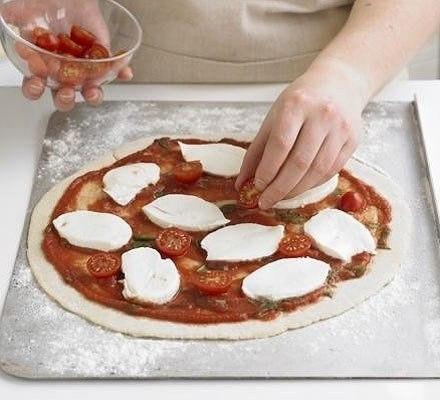 Рецепт пицца классическая маргарита