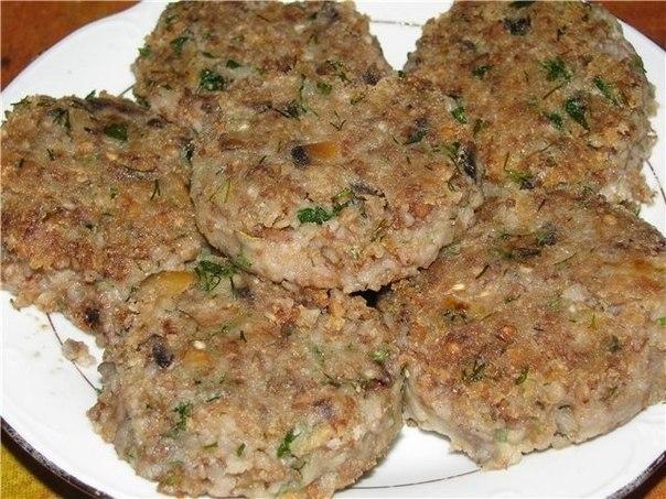вкусные котлеты из гречки рецепт