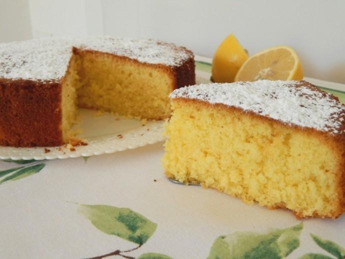 Воздушный лимонный пирог 0