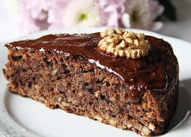 Шоколадно-ореховый торт 0