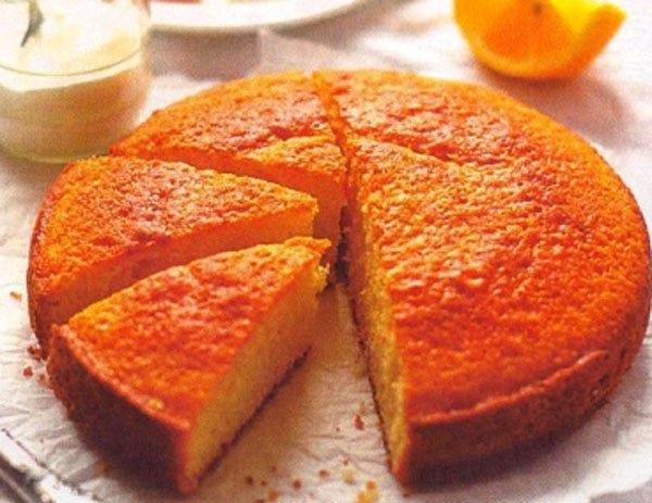 Цитрусовый пирог 0