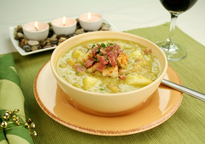 Картофельно-сырный суп 0