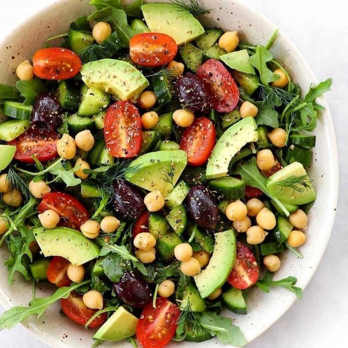 Летний салат за 10 минут 0