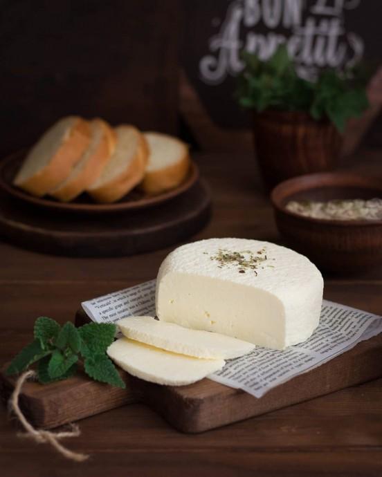 Домашний сыр из 3-х ингредиентов