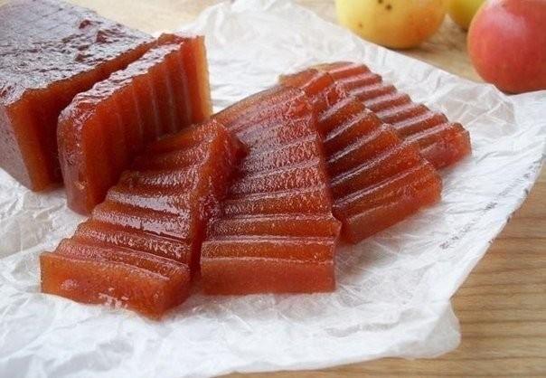 Рецепт для деток «Яблочный мармелад» 0