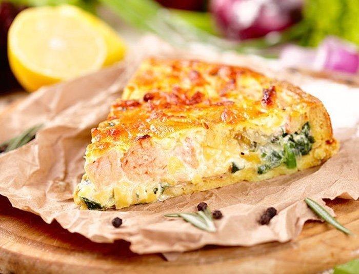 Рыбный заливной пирог 0