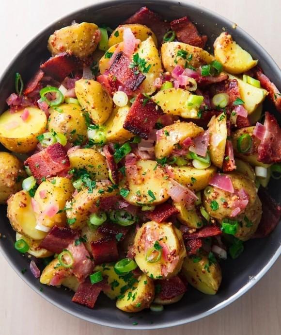Немецкий картофельный салат 0